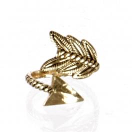 wholesale Metal twisted arrow ring AG fashionunic