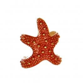 wholesale  Starfish ring CO fashionunic