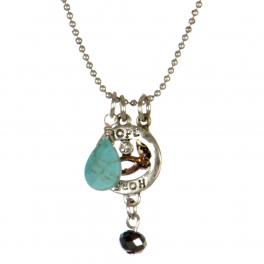 wholesale Hope theme pendant necklace set SBMT fashionunic