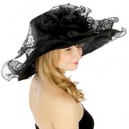 wholesale Cheetah print swirl dress hat BK fashionunic