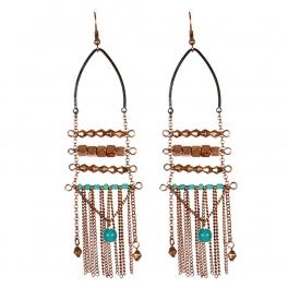 Wholesale L31C Beaded tassel earrings OG