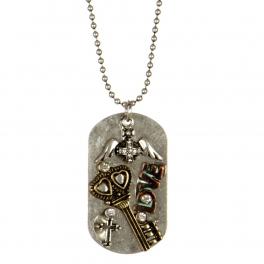 Wholesale L26B Metal key pendant necklace SB/MT