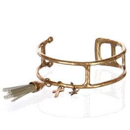 Wholesale L26A Suede tassel bracelet RGB/GY