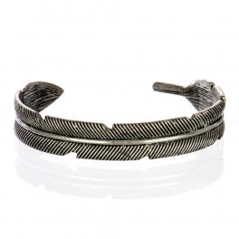 Wholesale L26A Feather plain cuff necklace SB