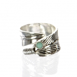 Wholesale L22D Feather ring AS