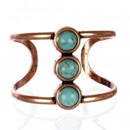 Wholesale L26B Faux jade cuff bracelet COP