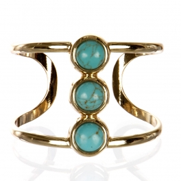 Wholesale L26B Faux jade cuff bracelet GD