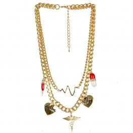 Wholesale L04A Medical charm necklace GDMLT
