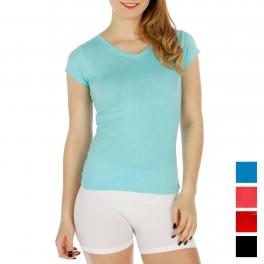 Wholesale H50C 8pcs cotton blend short sleeve T shirts