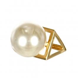 Wholesale L02C Prism pearl ring GDCRM