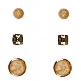 Wholesale N36E Faux Stone Set Earrings GBDBE
