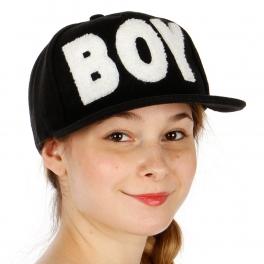 Wholesale R31A Boy Wool Snapback Hat BKWHT