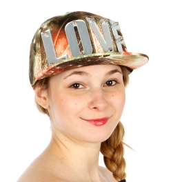 Wholesale R06B LOVE Snapback Hat RDORG