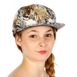 Wholesale S09B Multi Leopard Print Snapback Hat BLU