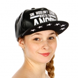 Wholesale R62B She Wouldn??t Love Me Hat BKWHT