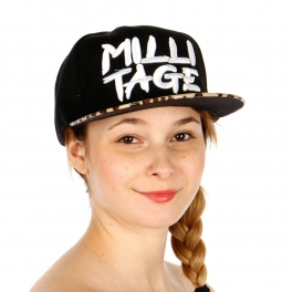 Wholesale R54A MiliTage Animal Print Hat BKLEO