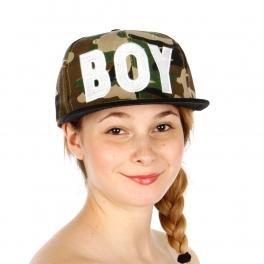 Wholesale T24D Camouflage Print Boy Hat CAM