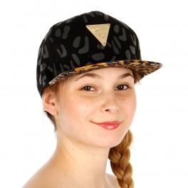 Wholesale T26B Leopard Print Hater Hat BKLEO