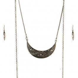 Wholesale M09B Chain Tassel Necklace Set SB