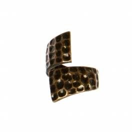 Wholesale M11D Hammered Style Ring RGB