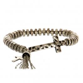 Wholesale M11A Ancient Cross Tassel Bell Bracelet SB