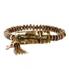 Wholesale M11B Ancient Tassel Bell Bracelet RGB