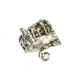 Wholesale M11D Music Note Ring AS