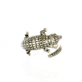 Wholesale M11D Crocodile Wrap Around Ring AS