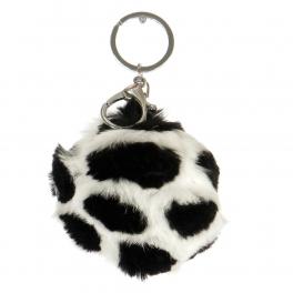 Wholesale P13A Fur Pom Pom Keychain WHBK