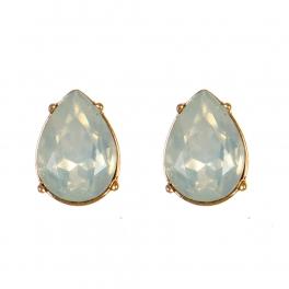 Wholesale M08E Tear Drop Faux Crystal Stud earrings GWT