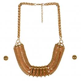 Wholesale M16B Disk Chain Necklace Set G