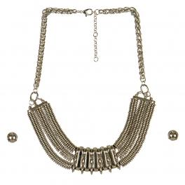 Wholesale M16B Disk Chain Necklace Set R