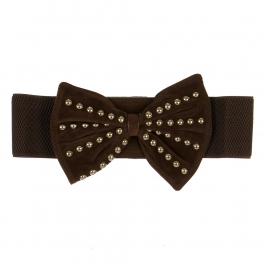Wholesale L35D Studded Bow Belt BR