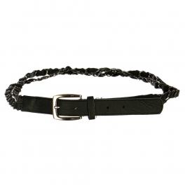 Wholesale L30E Double Chain Belt Black