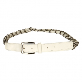 Wholesale L30E Double Chain Belt White
