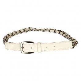 Wholesale L30E Double Chain Belt White
