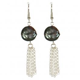 Wholesale M13B Faux Abalone Stone Earrings SV