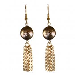 Wholesale M13B Faux Abalone Stone Earrings GD