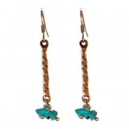 Wholesale M13D Faux Stone Beads Earrings CB