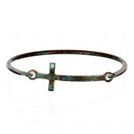 Wholesale L25B Cross Charm Bracelet OG