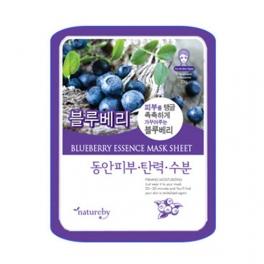 Wholesale 10 pcs Natureby Blueberry Essence Mask Sheet
