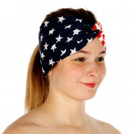 Wholesale H43A American Flag Head Band FL
