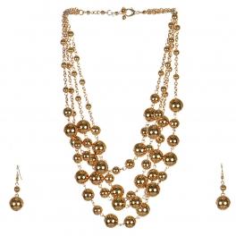 Wholesale M17D Ball Chain Necklace Set G