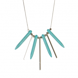 Wholesale M06A Beads Matchstick Necklace SV