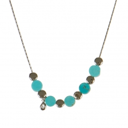 Wholesale M06A Stone Beads Necklace SV
