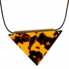 Wholesale M06A Triangle Pendant Necklace GD