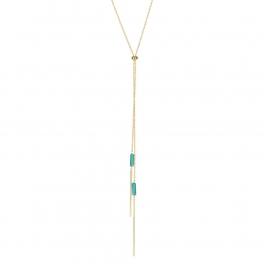 Wholesale M05A Bar Drop Lariat Necklace GD