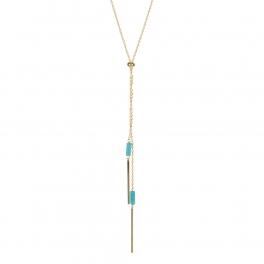 Wholesale M05A Bar Drop Chain Lariat Necklace GD