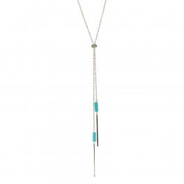 Wholesale M05A Bar Drop Chain Lariat Necklace SV