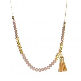 Wholesale M05B Beads w/ Tassel Long Necklace BR